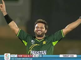 Shahid Afridi 5-16 - Pakistan vs Kenya 6th Match ICC Cricket World Cup 2011 Highlights