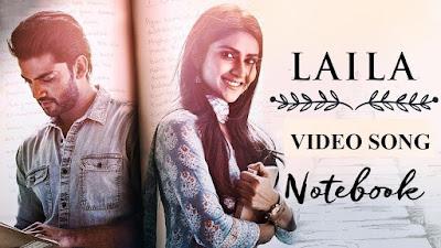 LAILA FULL SONG LYRICS - Notebook - Dhvani Bhanushali