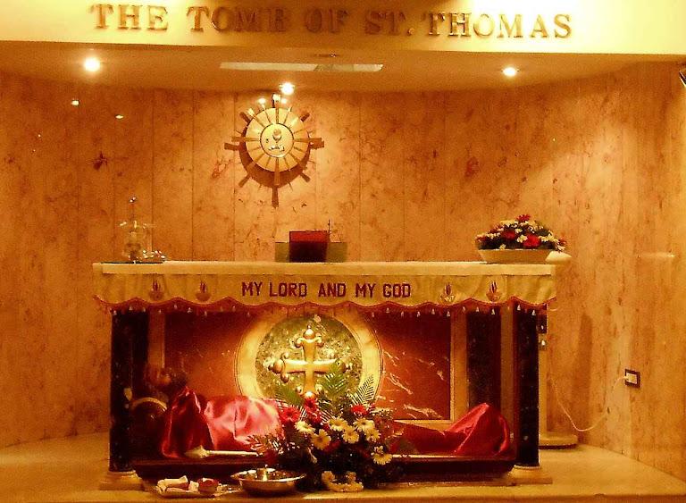 O corpo do Apóstolo São Tomé