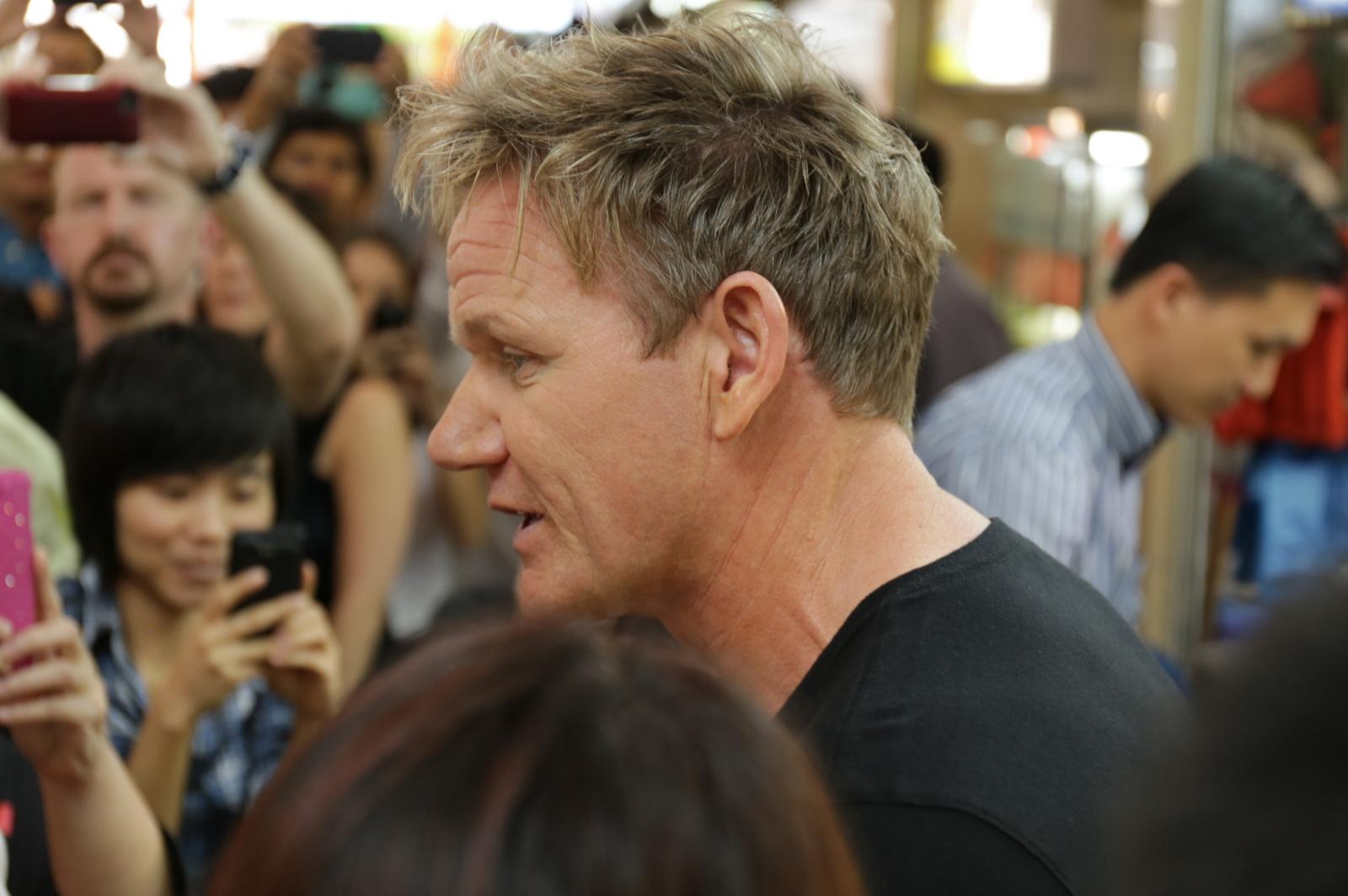 Gordon Ramsay in Singapore for Singtel Hawker Heroes