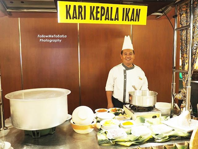 Sous Chef, Yusoff At His Curry Fish Stall