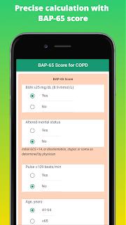 Precise calculation with  BAP-65 score