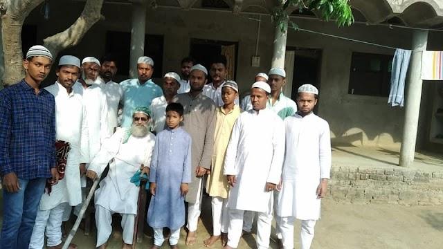 बेनीपट्टी में शांतिपूर्ण माहौल में संपन्न हुआ ईद