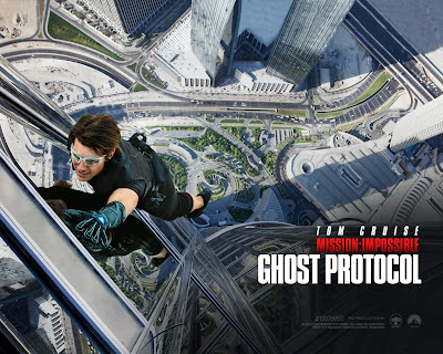 M:I - Ghost Protocol', Burj Khalifa, Directed by Brad Bird, Tom Cruise as Ethan Hunt
