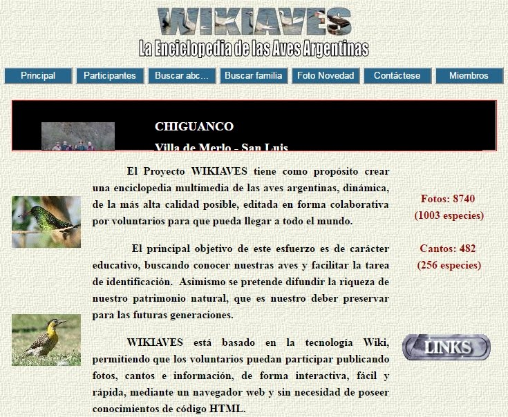Wikiaves de Argentina
