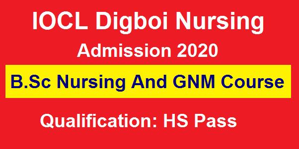 B.Sc Nursing And GNM Course