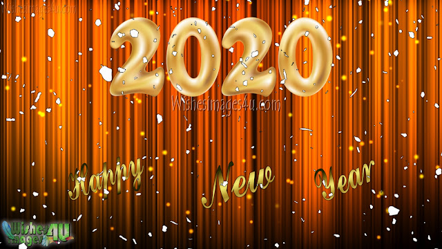 Happy New Year 2020 Golden Background Pictures Download Free