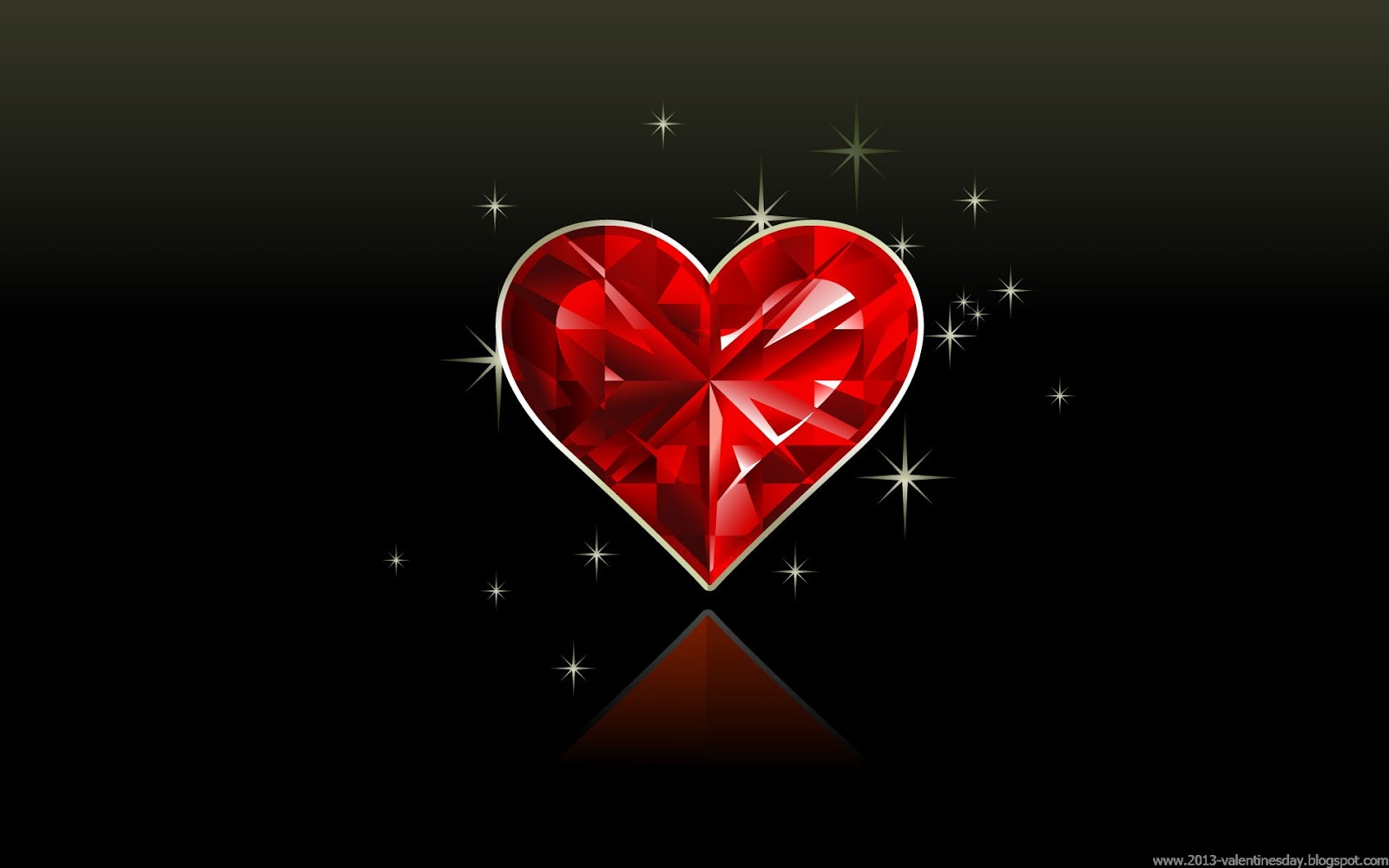Happy Valentines Day heart and love wallpapers