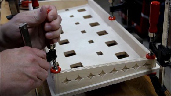 CNC Pedal Board Glue Up