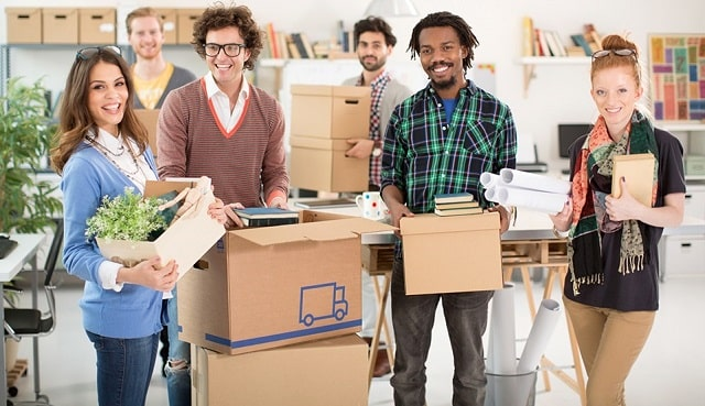 how to move business offices smoothly workplace relocation