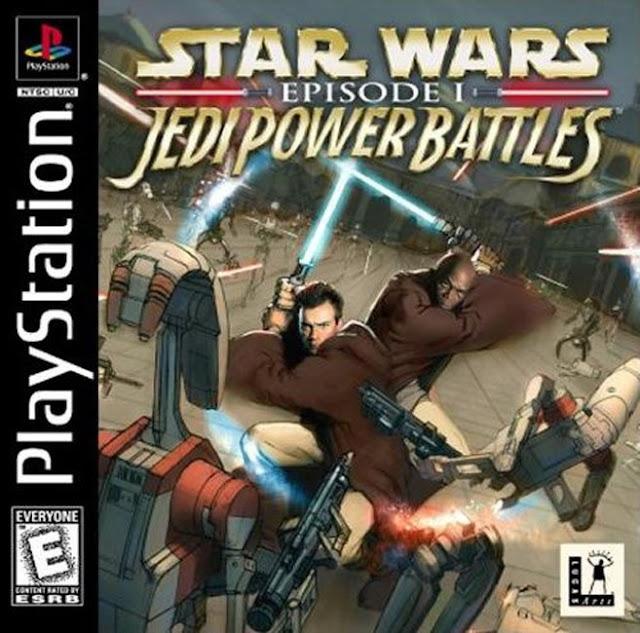 Star Wars: Jedi Power Battles - PSX - Portada