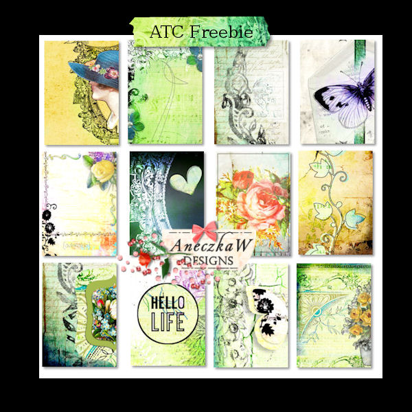 Hello Life ATC Freebie
