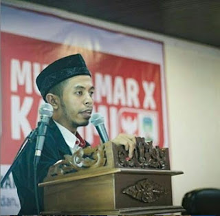 Barakallah wa innallah kepada akh Irfan Ahmad fauzi sebagai ketum pp KAMMI 2018-2020