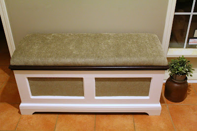 refurbished bench