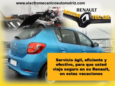 Revision para Viaje en su Renault