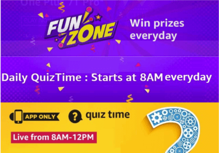 Today Amazon Quiz Answers 29 October 2019 Win Fabulous Prizes