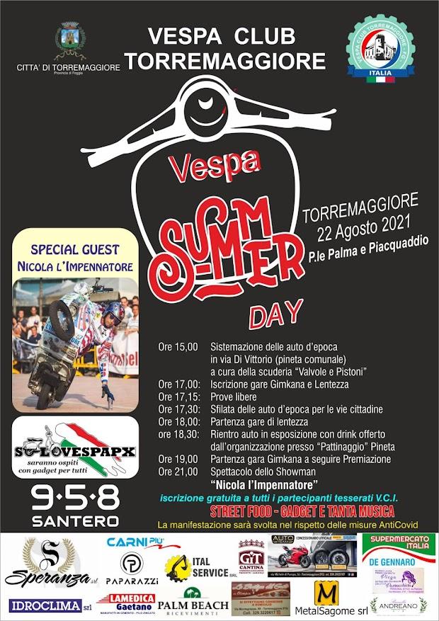 Torremaggiore (Fg): Vespa Summer Day (VIDEO)