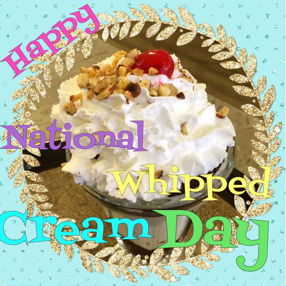 National Whipped Cream Day Wishes Images