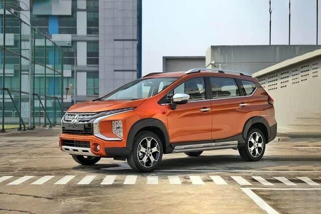 Mitsubishi Expander 2021. Màu cam. Mới 99%
