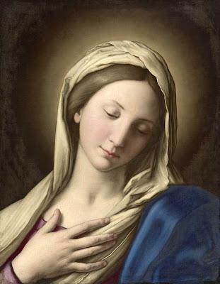 En la imagen Santa Maria Virgen.