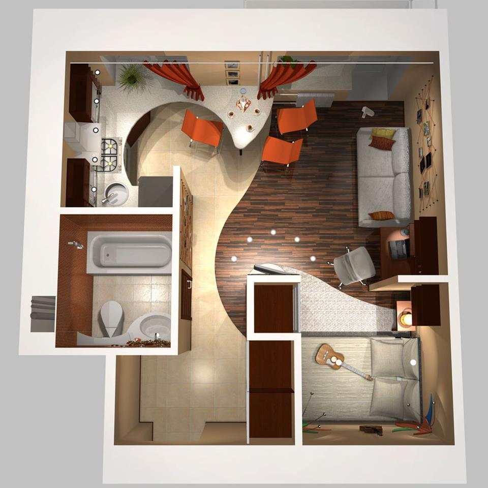 Mil Ideas Para La Casa Y El Jardin ♥: Casa Para Uno