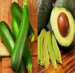 الكوسا أو القرع الأخضر بديل الأفوكادو