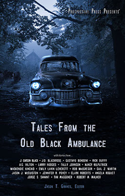 anthology, cover, horror, supernatural, Tales from the Old Black Ambulance