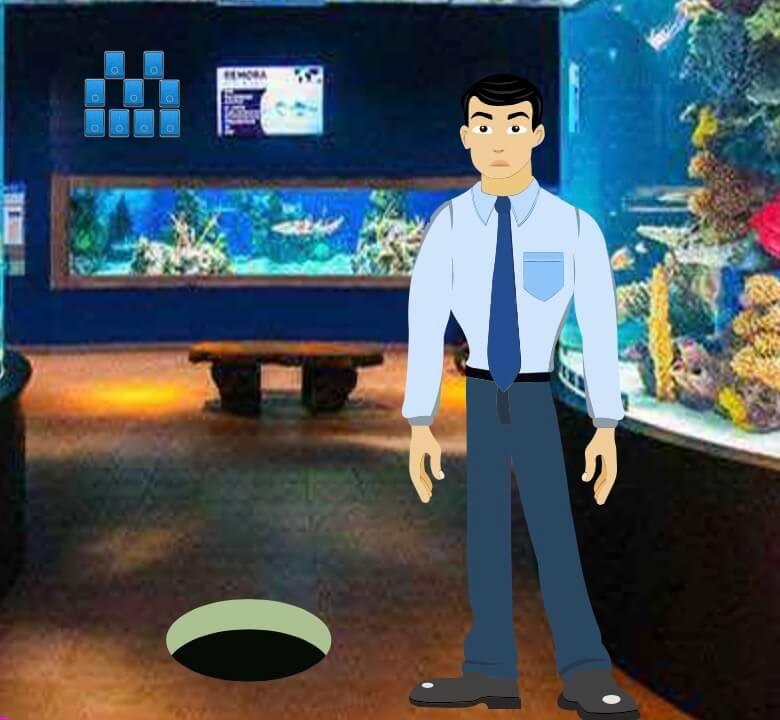 Play WowEscape Father Son Aquarium Escape