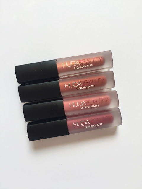 Review / Opinión Liquid Matte Lipsticks - Huda Beauty