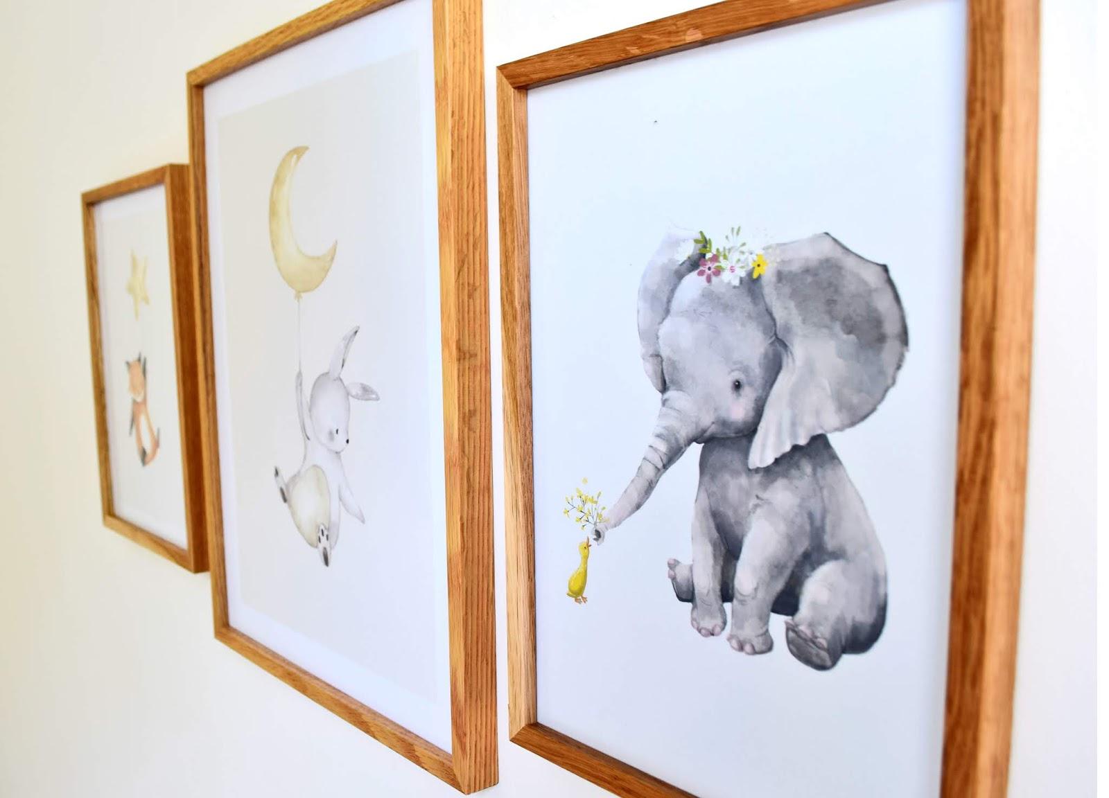 Obrazki w pokoju dziecięcycm
