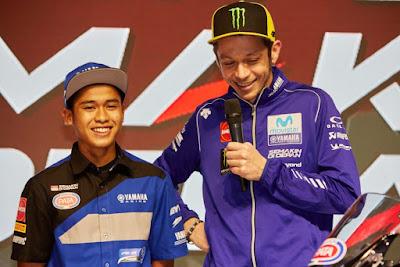 Valentino Rossi Bangga Atas Prestasi Galang Hendra Juara WorldSSP300 Ceko