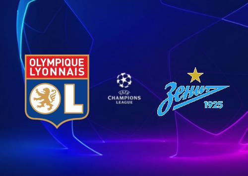 Olympique Lyonnais vs Zenit - Highlights 17 September 2019
