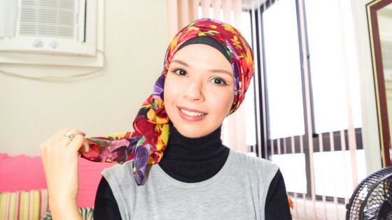 Chiffon side turban tutorial | Simplicity in Vogue | @ByAndreaB - hijab tutorial, turban tutorial, how to wear a turban, modest fashion, modest style, turban style, hijab style, modest women, muslimah, muslim women, islam, lifestyle blogger, fashion blogger, modest fashion blogger, iCovered, youtube, vlogger, youtuber, easy turban tutorial