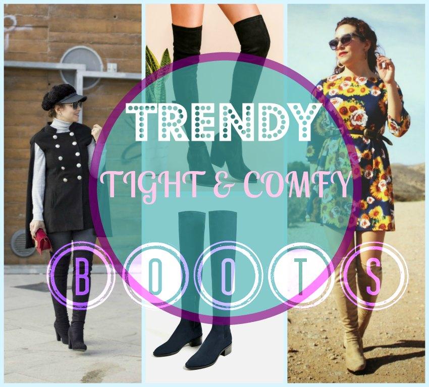 las mejores botas altas o mosqueteras baratas y comodas con los looks mas originales paracombinarlas