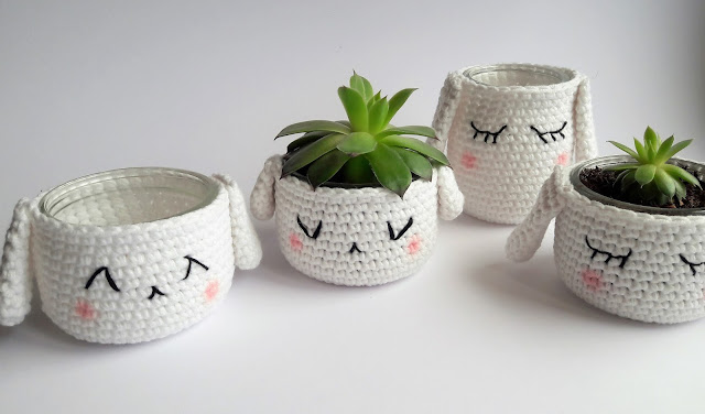 petit pot amigurumi succulente crochet mollies makes tournicote
