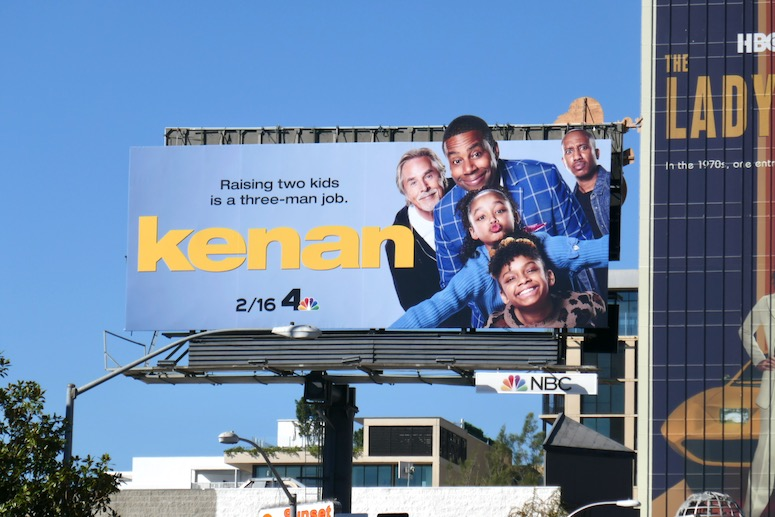Kenan series launch billboard