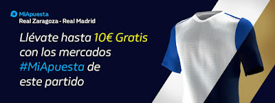 william hill promo Zaragoza vs Real Madrid 1 febrero 2020