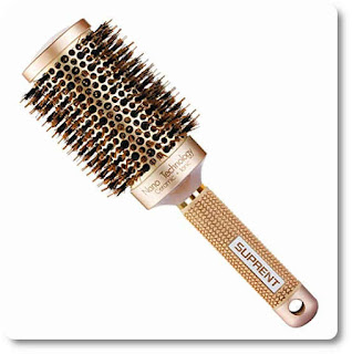 Suprent Thermic Ceramic & Ionic Round Hair Brush with Boar Bristle by Suprent
