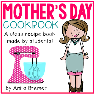 EDITABLE Mother's Day Cookbook- Have students tell you how their moms make their favorite foods, and put them together into a 'recipe' book for Mother's Day!