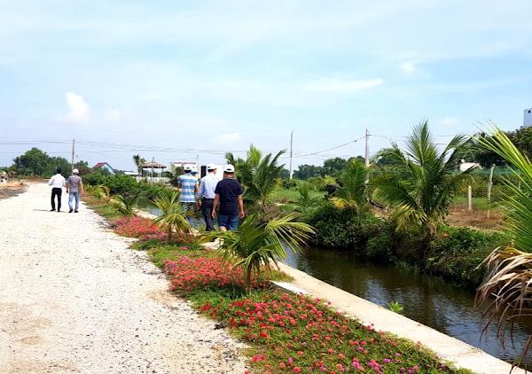 hình ảnh khách tham quan dự án đất nền happy garden hồ tràm