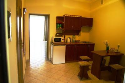1-комнатные апартаменты отельного комплекса в Семидворье (вариант 7)