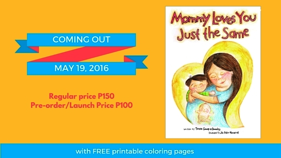 MOMMY LOVES YOU JUST THE SAME, to be Published by the #1 Amazon Bestselling Author