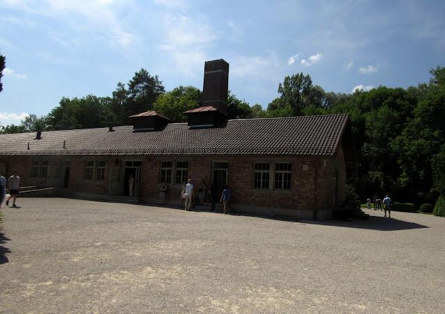Campo de Concentração Dachau crematório