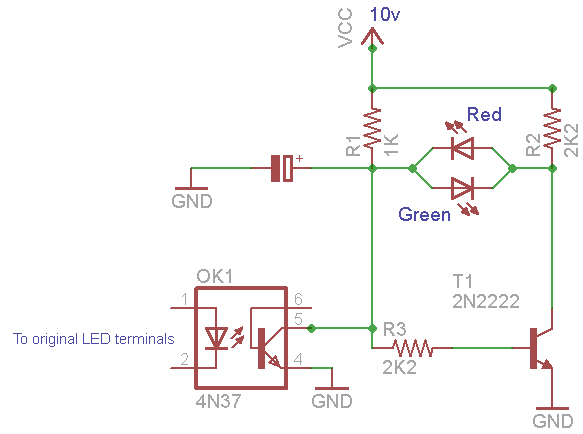 Circuit With The V Led And V Led Terminals Not Connected To An Led