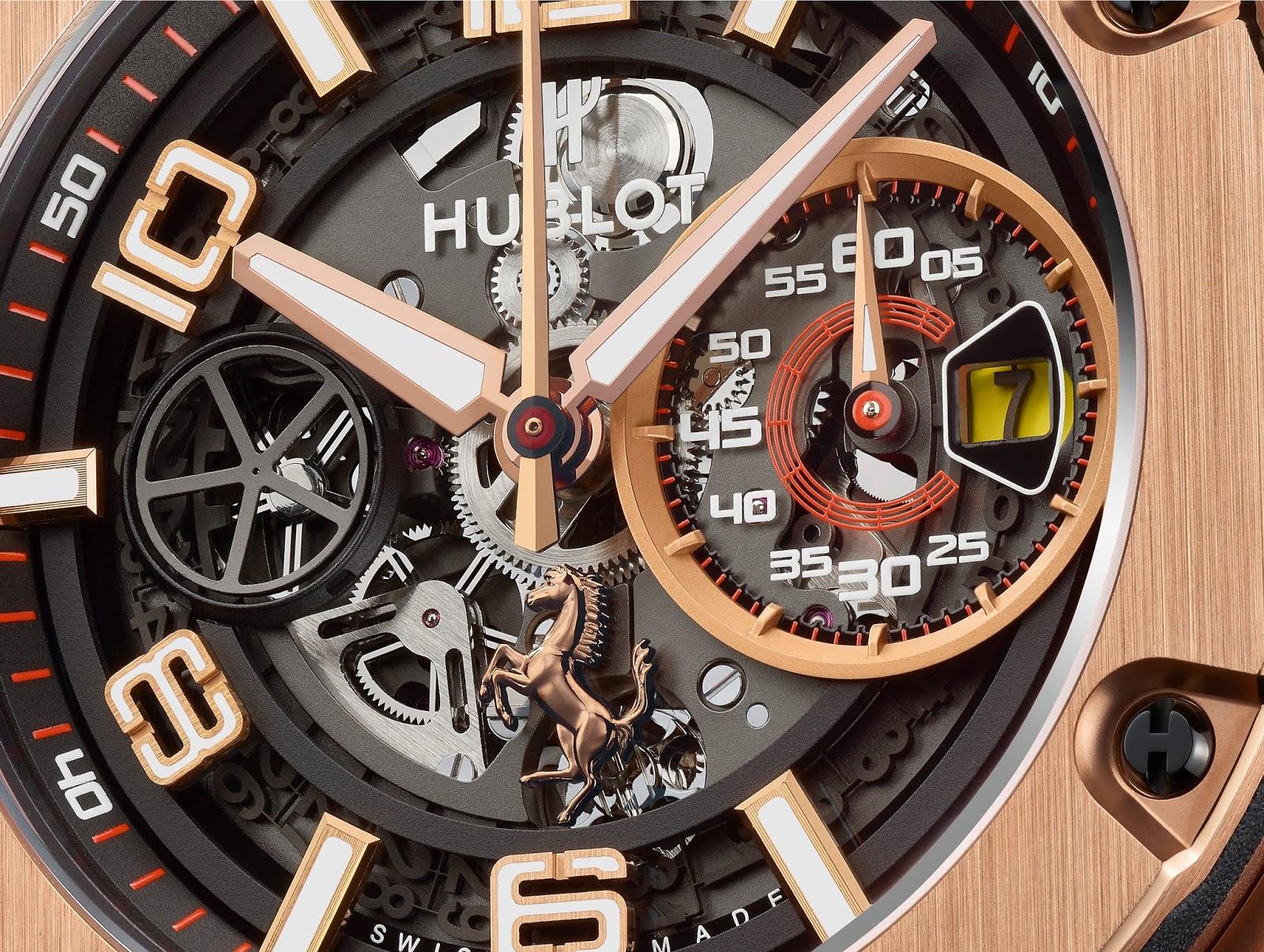 df941e9bc58 Estação Cronográfica  Chegado ao mercado - relógio Hublot Big Bang ...