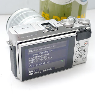 Kamera FujiFilm X-A3 kit 16-50mm Malang