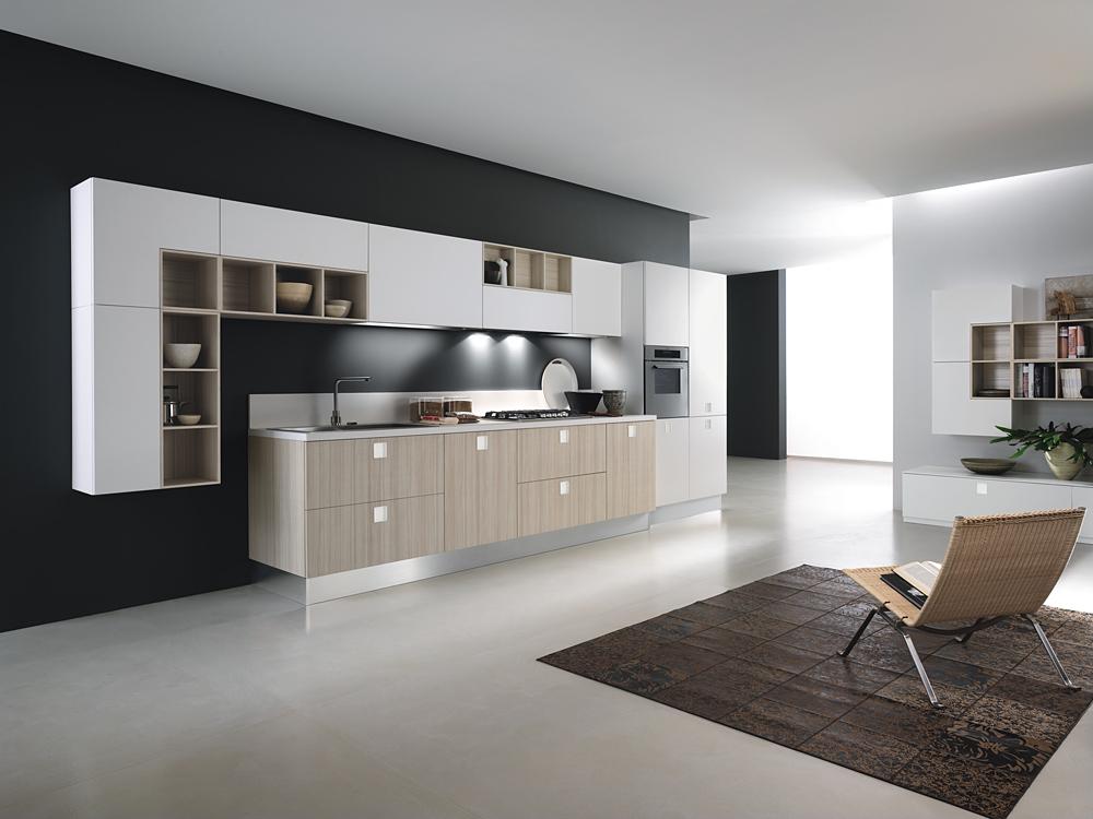 Italian Modern Kitchen Cabinet
