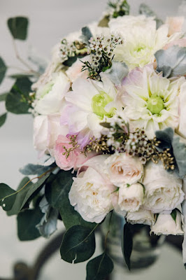 bouquet with colorful flowers