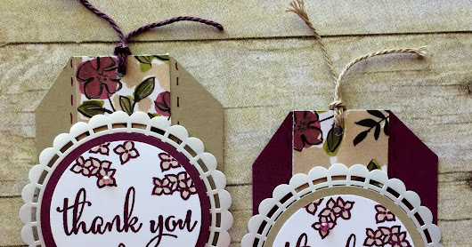 June Customer Thank You Tags