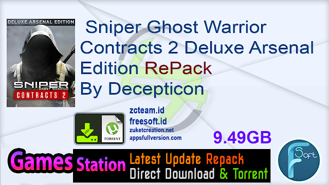 Sniper Ghost Warrior Contracts 2 Deluxe Arsenal Edition RePack By Decepticon
